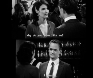 couple, himym, and tvshow image