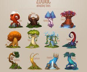 tree and zodiac image