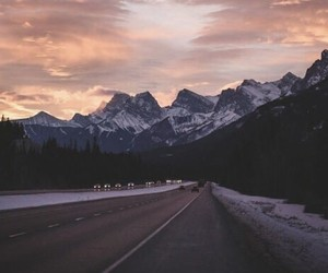 beautiful, mountains, and love image