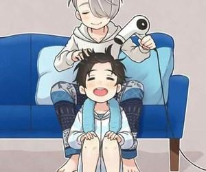 anime, yuri on ice, and manga image