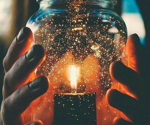 light, candle, and autumn image