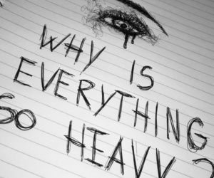 drawing, Lyrics, and sad image