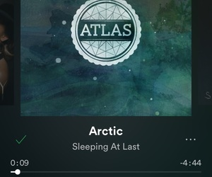 arctic, music, and spotify image