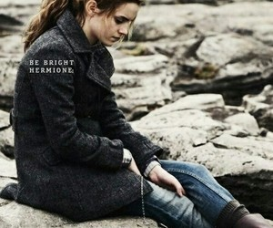 harry potter, hermione granger, and deathly hallows image