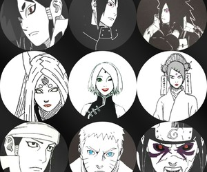 naruto, sasuke uchiha, and team 7 image
