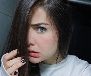 beauty, eyes, and style image
