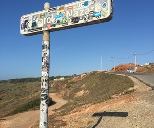 beach, holidays, and portugal image