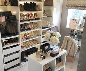 beauty, decor, and closet image