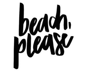 beach, black, and pray image