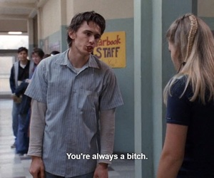 freaks and geeks, bitch, and geek image