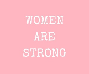 females, strong, and women image