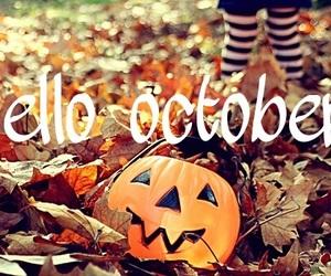 october, Halloween, and pumpkin image