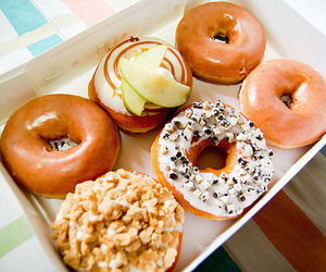 donuts, food, and gourmet image