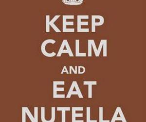 keep calm, nutella, and nirvana image