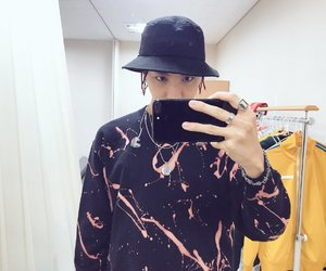 handsome, jhope, and hat image