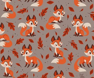 fox, wallpaper, and animal image