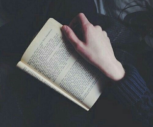 book, grunge, and read image