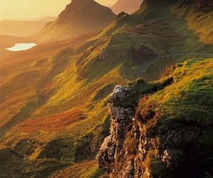 nature, scotland, and mountains image