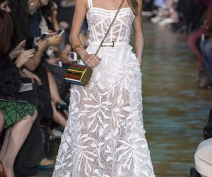 elie saab, beauty, and dress image