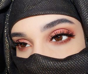 arabic, eyes, and girl image