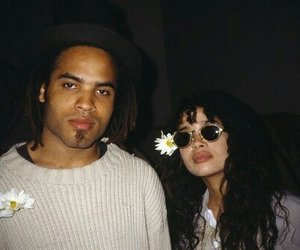 90s, flower, and lenny kravitz image