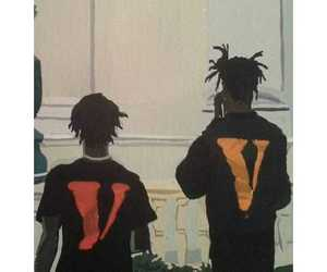 dope art, vlone, and playboi carti image