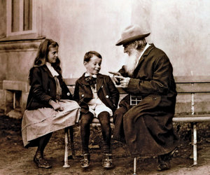 leo tolstoy, tolstoy, and old image
