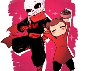 undertale, pucca, and frisk image