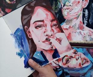 aesthetic, art, and arte image