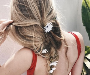 braids, feelings, and pretty image