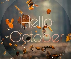hello, new, and october image