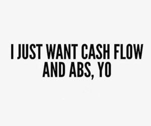 abs, fitness, and money image