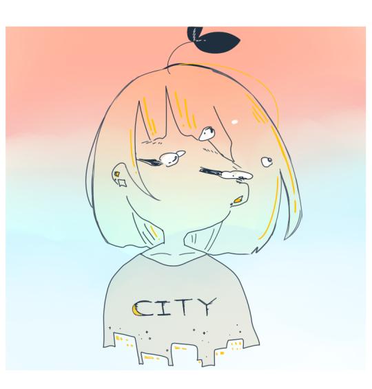 anime girl, cry, and draw image