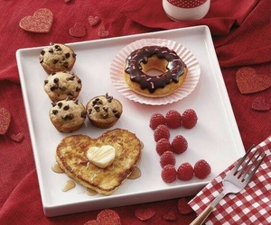 love, breakfast, and food image