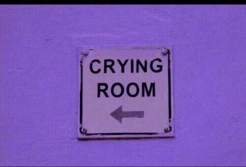 cry, sad, and room image