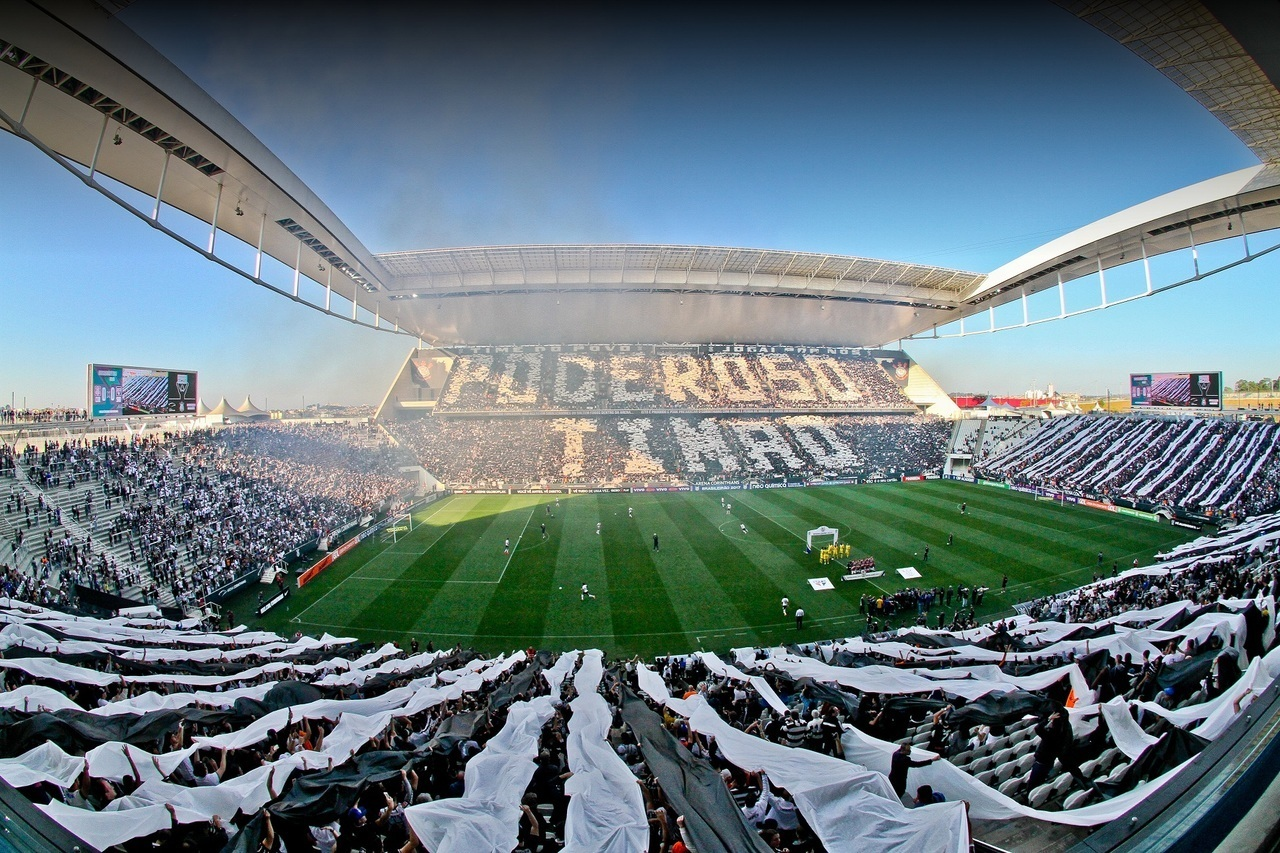 arena, corinthians, and football image