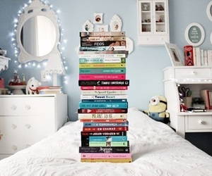 book, room, and read image