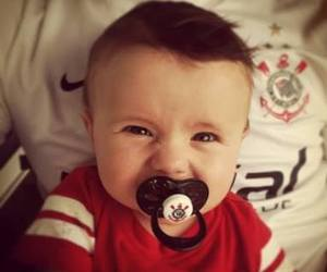 baby, football, and photography image