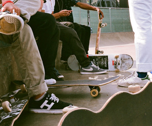 radical, skateboard, and love image