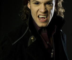 blood, vampires, and dark image