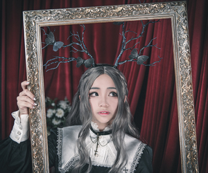 antlers, cosplay, and cosplayer image