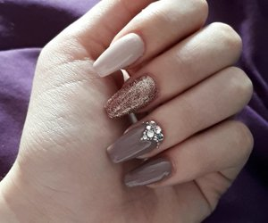 autumn, brown, and nail image