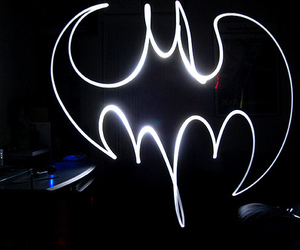 batman and lightpaint image