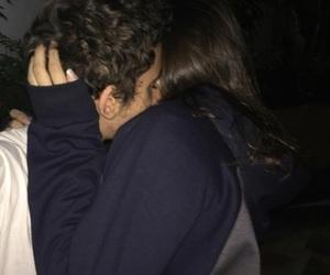couple, kiss, and alternative image