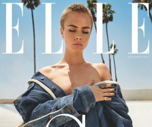 model, Elle, and cara delevingne image