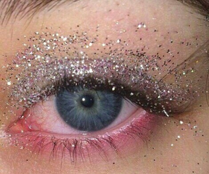 glitter, eyes, and grunge image