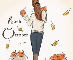 hello october. image