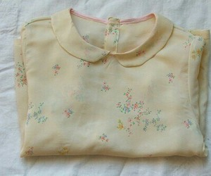 shirt, vintage, and blouse image