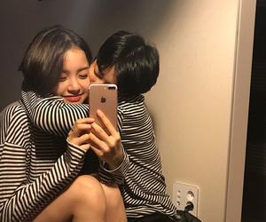 kiss, love, and korean image