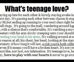 love, teenage, and cute image